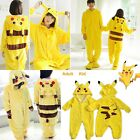 Adult Size Pajamas Pokemon Pikachu Kigurumi Costume for Cosplay Halloween Party