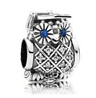 Graduation Owl Charm Genuine 925 Sterling Silver University degree gift College