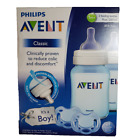 *NWT- Philips AVENT CLASSIC- BABY (1m+) 2 FEEDING BOTTLES AND 2 PACIFIERS SET
