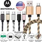 Micro USB Charging Phone Matter Sync Charger Cable For Motorola Moto G