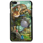 Studio Ghibli Characters Totoro Soft TPU Case Cover For iphone X 7 Plus 8 6S S9