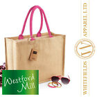 Westford Mill - Classic Jute Shopper WM407