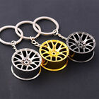 Superb Metal Keychain Car Key Ring Wheel Hub Chain Pendant For Man Women Gift