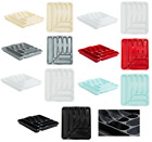 Plastic Cutlery Tray 7 Compartment Large Cutlery Holder Organizer Rack Kitchen