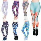 Emoji Unicorn Stretchable Yoga Leggings Gym Fitness Running Pilates Pants