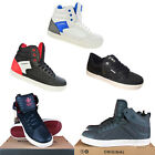 New Men's Designer Twisted Faith High/Low Top Casual Trainers Pumps Sneakers