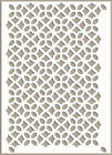 Moroccan Stencil Pattern Reusable Crafts  Wall  Furniture Fabric Journaling TE79