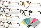 Womens Eyeglass Computer Readiation Protection Clear Lens Reading Glass Optical