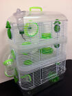 3 Color, New Sparkle 3 Levels Habitat Hamster Rodent Gerbil Mice Rat Cage 159