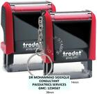 Trodat Custom 4911 Self-Inking Rubber Stamps Personalised to Your Requirments