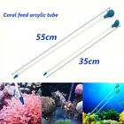 35/55cm Arcylic Coral Feeder Tube Liquid Fertilizer Add Reef Tank Fish Aquarium