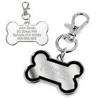 PetArtist® Personalised Engraved Pet Dog Cat Tags Custom ID Name Free Gifts