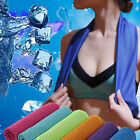 Ice Cold Running Gym Yoga Hiking Cycling Cooling Towel Outdoor Sports Chilly Pad