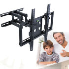 Full Motion Tilt Swivel TV Wall Mount Bracket 32-70 Comfortable Angle Adjustable