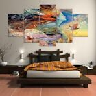 5Pcs Abstract Girl Canvas Print Painting Pictures Wall Art Home Decor Framed
