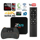 Z69 Quad Core 3GB/32GB Amlogic S905X 1080p 4K Smart TV Bo...