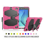 "Samsung Galaxy Tab A 8.0"" Case Shockproof Military Heavy Duty Rubber Kickstand"