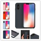 KIKO Apple iPhone X (Ten) Pro Silicone Hard Case Skin Cover, Heavy Duty Slim Fit