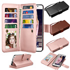 hard credit card case - Flip Leather Wallet Case Credit Card Holder Cover For Samsung Galaxy Note 5