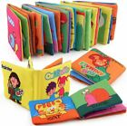 Cloth Baby Toy Cloth Development Book Intelligence Early Learning Education Gift