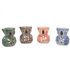 Owl Oil wax melt simmering burner cute rustic owl design pagan Wicca Bird