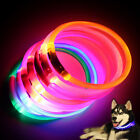 cheap puppy collars - LED Night Flashing Luminous USB Charging Pet Dog Puppy Safety Collar Tie Cheap