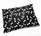 DOG+BED+LARGE+SIZE+REMOVABLE+ZIPPED+COVER+WASHABLE+PET+BED+CUSHION+%26+COVER
