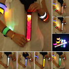 Safety LED Running Reflective Wrist Belt Strap Arm Band Outdoor Sports Supply