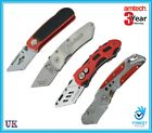 "Amtech 6"" Lock Back Folding Tradesman Utility Knife Holder No Blades Included"