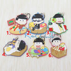 Hot Japan Anime Mr Osomatsu San Rubber Strap Keychain Pendant FL235