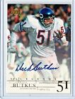 DICK BUTKUS AUTO LEGENDS  AUTOGRAPH 2001 UPPER DECK UD NFL #DB BEARS HOF