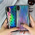Bling Shining Laser Technology TPU Shockproof cover Case for Apple iPhone X