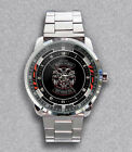 Get It Now!! Five Finger Death Punch - Biker Badge Custom Unisex Wristwatches