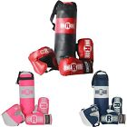 Ringside Youth Kids Boxing Kit Training Bag Set Punching Bag Gloves Heavy Bag