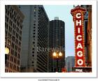 Chicago Sign Art Print/Canvas Home Decor Wall Art Poster - B