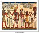 Egyptian Papyrus Art Print Home Decor Wall Art Poster - C
