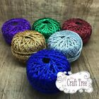 Sparkly Glitter Soft String Cord Twine 5 Metres