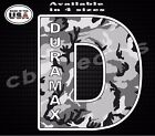 Duramax sticker army snow camo Printed Decal Truck Decal Window Decal Yeti Cup