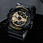 SMAEL Mens Camouflage Military Watch Sport LED Digital Dual Time Wristwatch 5ATM
