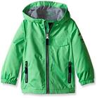 London Fog Big Boys Lime Green Poly Fleece Lined Jacket Size 14/16