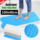extra long bath mats non slip - Bath and Shower Mat Extra Long Non Slip,Anti Bacterial,Large 16 x 40 Inch USA
