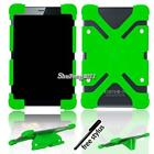 Universal Shockproof Silicone Stand Cover Case For Various 7 inch Tablet +Stylus