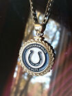 STERLING SILVER ROPE PENDANT W/ NFL INDIANAPOLIS COLTS b SETTING JEWELRY GIFT on eBay