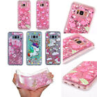 Bling Glitter Quicksand Lovely Cartoon 3D Dynamic Liquid Phone Case Soft Cover