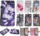 Painted Flip Leather Card Stand Case Wallet Cover For Moto G4 LG SONY XA1 Z6 E6