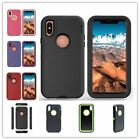 Armor Defender Hybrid Protective Slim Skin Cover Case for Apple iPhone X Ten 10