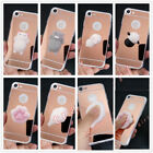 Mirror Funny Squeeze Squishy Seal Sea Lion Soft Cute Cartoon Phone Case Cover