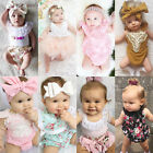 Внешний вид - Kids Baby Clothes Girl Floral Romper Bodysuit Jumpsuit Outfits Sunsuit One-piece