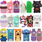 samsung core 3 - 3D Cartoon Soft Silicone Rubber Case Cover For Samsung Galaxy J3 J5 J7 2017 US