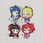 Hot Japan Anime Cute Love Live! Sunshine Rubber Strap Keychain FL252